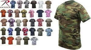 92fdfee2d Camo T-Shirt Military Short Sleeve Tee, Army Camouflage Tactical ...