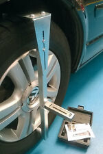 SAVE MONEY DIY Magnetic Wheel Alignment Camber Castor Gauge + Camber Bar