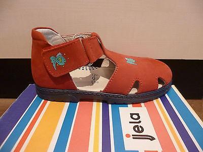 Jela Mädchen Sandalen Sandaletten rot, NEU!!