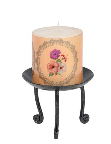 Indian Metal Iron Tea Light Candle Holder Wedding Party Decorative Stand Pillar