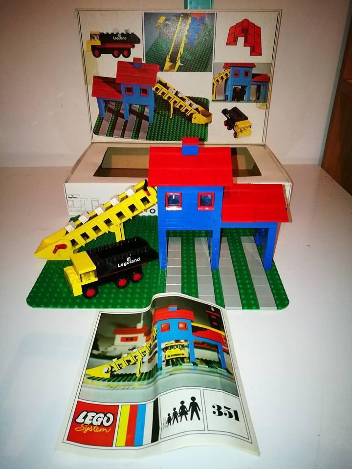 LEGO SYSTEM LEGOLAND 351 ANNI 70 COMPLETO VINTAGE TOYS