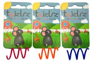 Twizlrz-Durable-Colour-Bouncing-Interactive-Pink-Orange-Blue-Cat-Toy-Toys