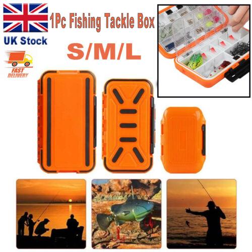 Fishing Tackle Box Tools Bag Bait Hooks Accessory Storage Tacklebox Size Gift