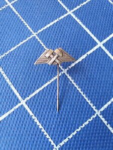 Silver-900-pin-badge-ansteckandel-MINE-MINER-MINING-MINERS