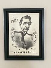 The Twins - Song Sheet Print -12''x16'' frame, vintage musical poster
