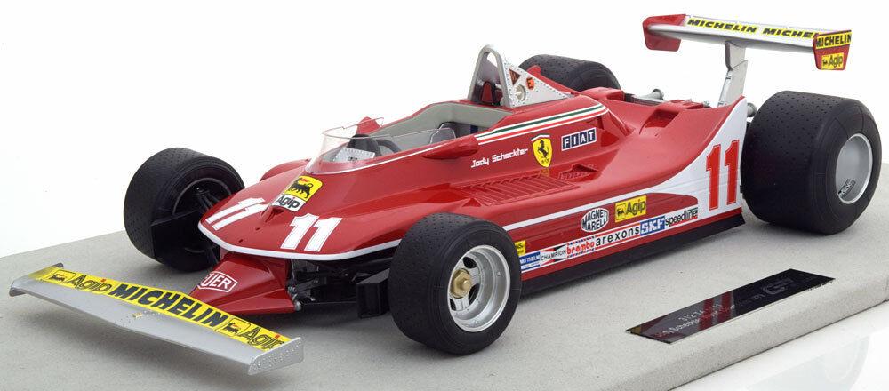 Ferrari 312 T4 Campeón Del Mundo 1979 Scheckter  12 By Gp Replicas Le Of