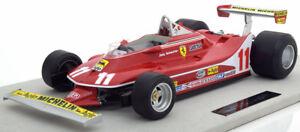 Ferrari 312 T4 Champion Du Monde 1979 Scheckter #11 1/12 Par Gp Replicas Le De