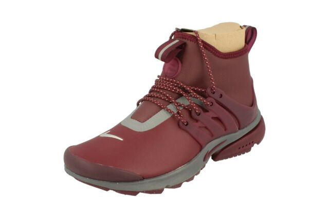 official photos ae5b6 37ee3 Nike Womens Air Presto Mid Utility Hi Top Trainers 859527 Sneakers Shoes 600