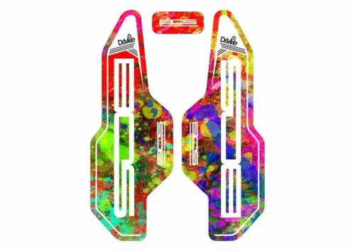 BOS Deville Forks Suspension Factory Decals Cycling Sticker Adhesive Oil Slick