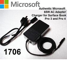 NEW Original Microsoft Surface Book Pro 3 Pro 4 65W 15V 4A AC Power Adapter 1706