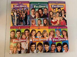 FULL-HOUSE-DVD-BOX-SET-LOT-SEASON-1-2-4-6-7-8-Warner-Bros