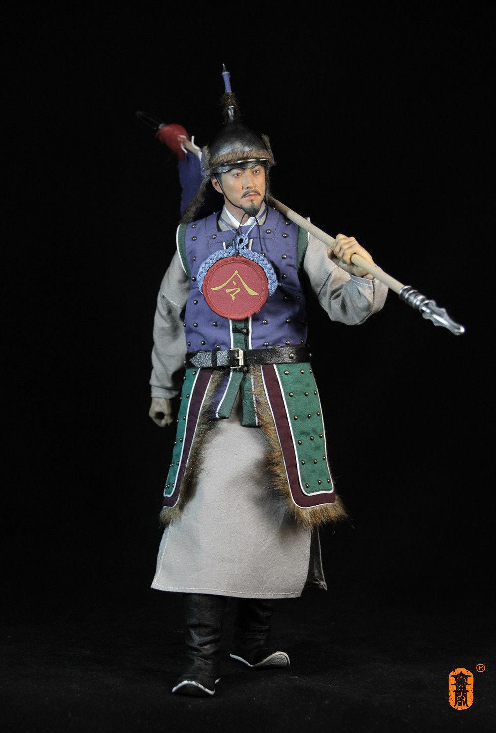 Klg - dk001 1   6 transmisores dinastías Ming con un juguete militar intacto