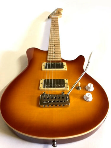 NEW-6-STRING-FLAME-MAPLE-EVH-BALL-STYLE-ELECTRIC-OFFSET-GUITAR-BURST-CASE