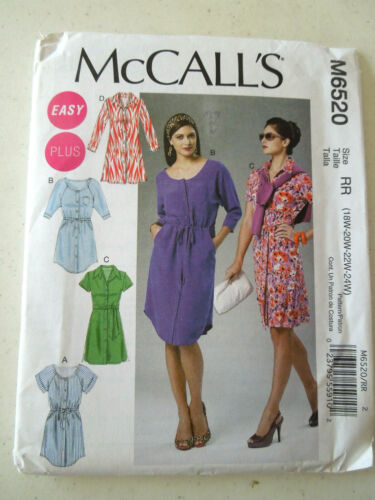 Skirts and Scarves Women/'s Modern Sewing Patterns Uncut Dresses