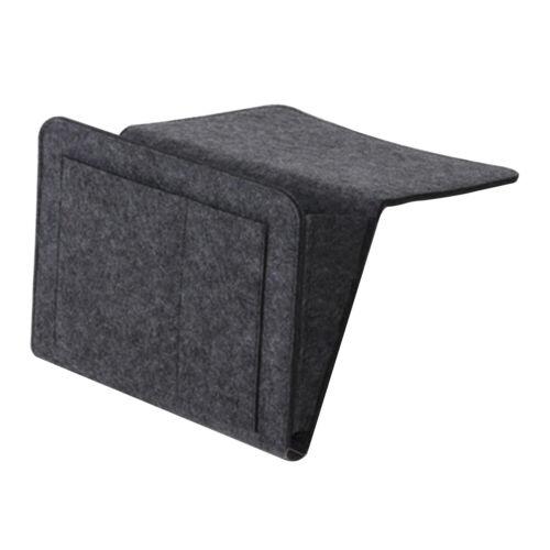 Felt Sofa Couch Organizer Bedside Caddy Bed Storage Pocket Hanging Holder Bag F