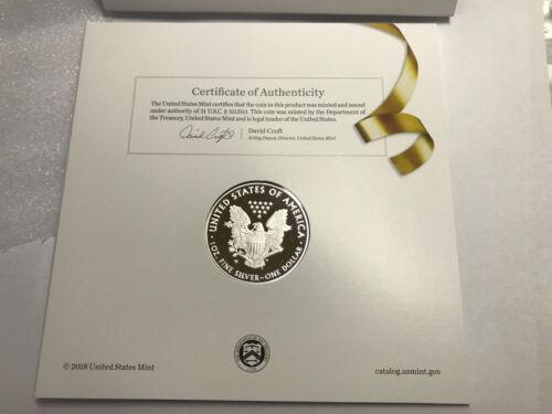 2019-W Congratulations Set American Eagle One Ounce Silver Proof Coin COA 19RF