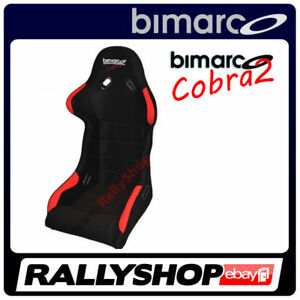 Racing-Seat-BIMARCO-COBRA-II-RED-BLACK-VELOUR-CHEAP-AND-FAST-DELIVERY