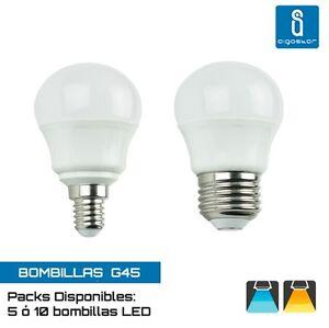 Aigostar-A5-G45-Bombillas-Led-Esfericas-3W-4W-o-5W-Packs-de-5-o-10-Unds