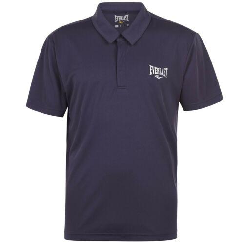 Everlast Mens Classic Polo Shirt Fit Tee Top Short Sleeve Cotton Regular