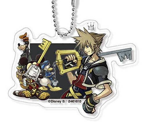 Disney Kingdom Hearts Acrylic Charm Bandai Keychain Gashapon Kingdom Hearts II
