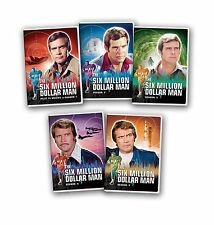 SIX MILLION DOLLAR MAN COMPLETE SERIES SEASON 1/2/3/4/5 NEW SEALED DVDS SET DVD