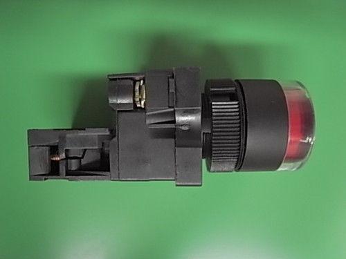 1 piezas de repuesto de pulsador rojo 12 voltios con LED no rastend etyc 3-02 LED