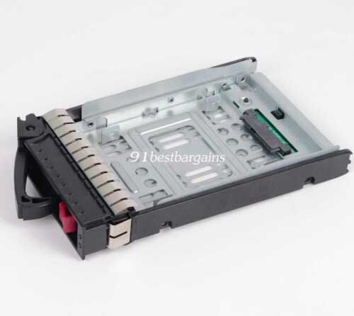 "HP 2.5/"" SSD TO 3.5/"" SATA CONVERTER HARD DRIVE BAY ASSY 654540-001 373211-001"