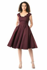 Women-V-Neck-Party-Dress-Sleeveless-With-pockets-Casual-Size-XS-5XL