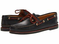 Men's Sperry Top-sider Gold Cup A/o 2-eye Boat Shoe, 10847137 Sizes 8-11 Black