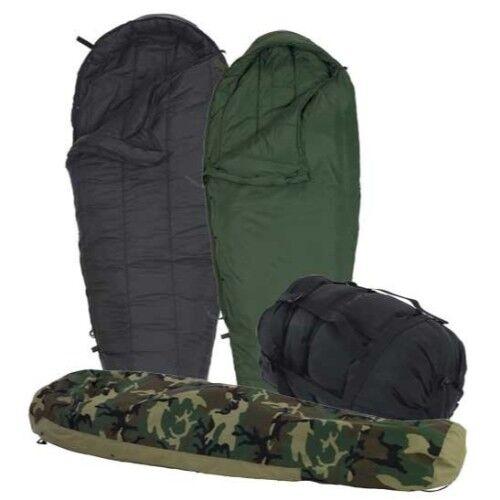 US Military 4 Piece Modular Sleeping Bag Sleep System w GORTEX Bivy- EXCELLENT