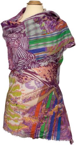 stampa digitale sciarpa Sciarpa stampa estiva cotone cotone estate animalier seta FTK1l3cJ