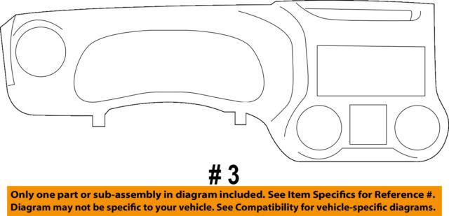 Jeep Wrangler Instrument Panel Dashcluster Bezel 6br44dx9aa Ebay. Jeep Chrysler Oem 1516 Wrangler Instrument Panel Dashcluster Bezel 6br44dx9aa. Jeep. Jeep Wrangler Dash Diagram At Scoala.co