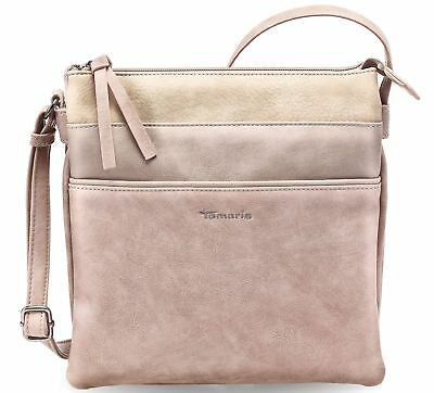 Tamaris Khema Crossbody Bag Umhängetasche Tasche Rose Comb Rosa Beige Neu | eBay