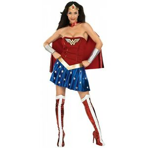 Wonder-Woman-Costume-Adult-Female-Superhero-Halloween-Fancy-Dress