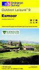 Exmoor by Ordnance Survey (Sheet map, folded, 1993)