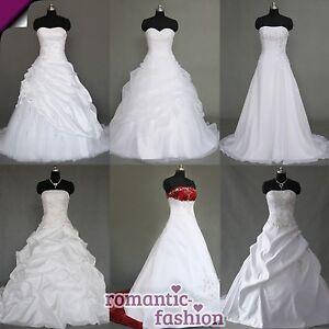 TOP-Brautkleid-Hochzeitskleid-Weiss-Gr-34-bis-54-viele-Modelle-zur-Auswahl-NEU