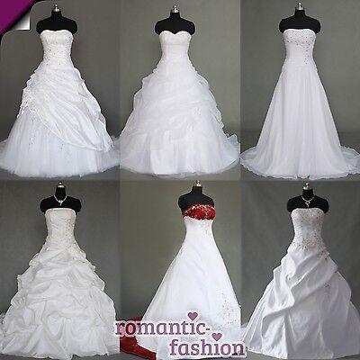 ♥TOP Brautkleid Hochzeitskleid Weiß Gr. 34 bis 54 viele Modelle zur Auswahl+NEU♥