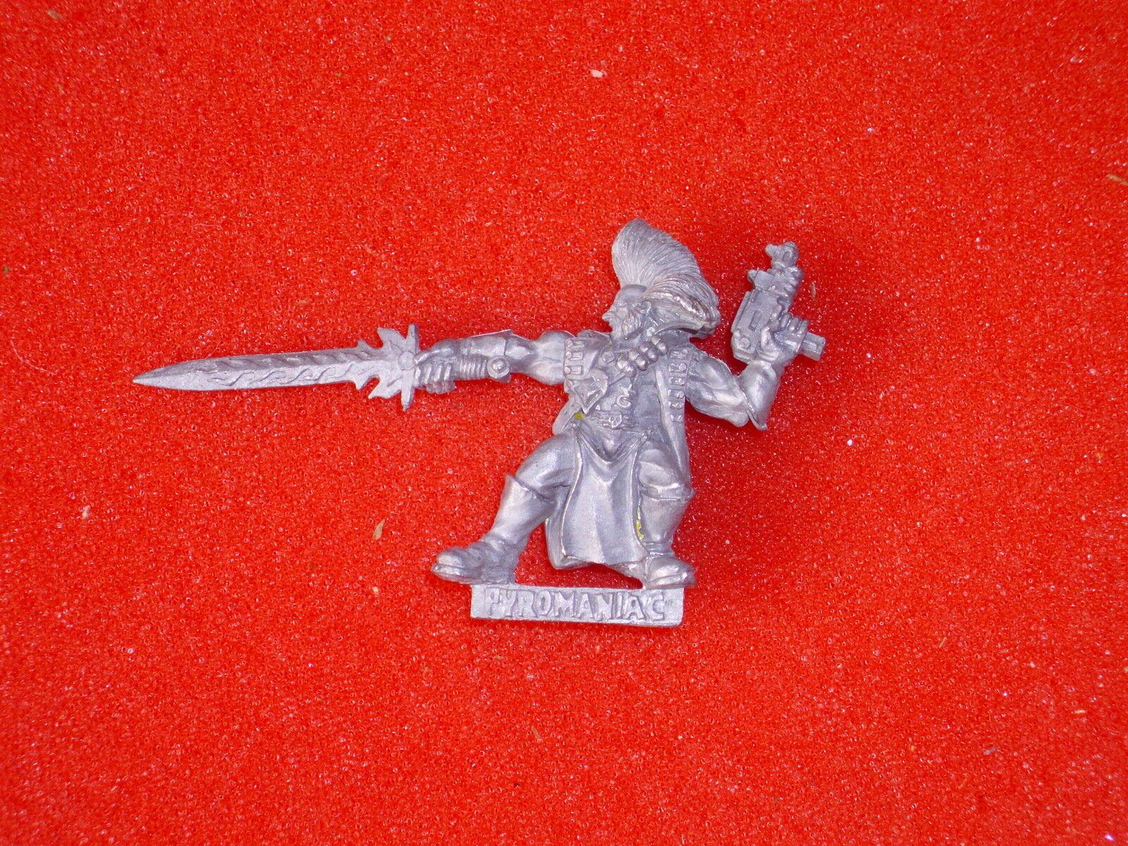 Necromunda Hired gun Wyrd Pyro - OOP - Stripped - Metal