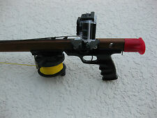 GoPro Custom Mount HERO (All) Camcorder For Riffe Euro Spearguns, No Drilling!!