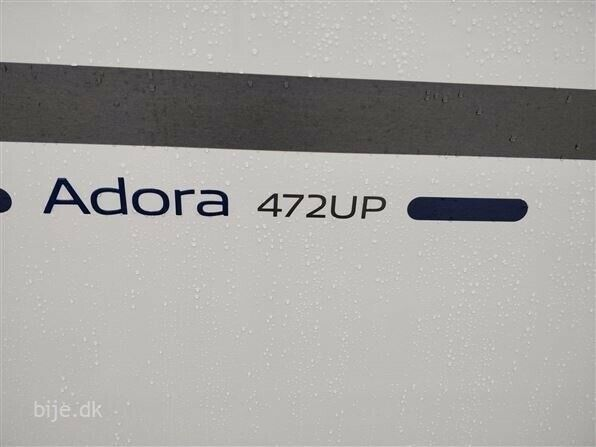 Adria Adora 472 UP, 2019, kg egenvægt 1110