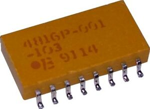 Resistor Networks Arrays 16Pin 22Ohms Isolated Low Profile