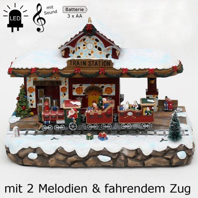 Santa Hat Street Lamp Weihnachtsdorf Set//4 Lemax Beleuchtung 64472
