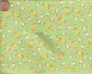 Sunbonnet-Sue-1930s-reproduction-green-ducks-Windham-fabric