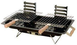 Bbq barbecue da tavolo 43x25 cm a carbone portatile griglia x giardino campeggio ebay - Barbecue a gas da tavolo ...