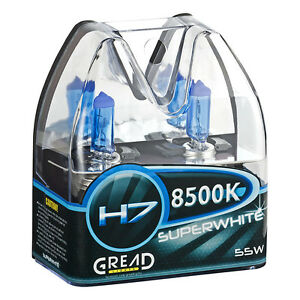 H7-Box-Gread-8500k-Halogene-Lampes-Xenon-Look-Optique-Effet-ampoules-Super-White-55-W