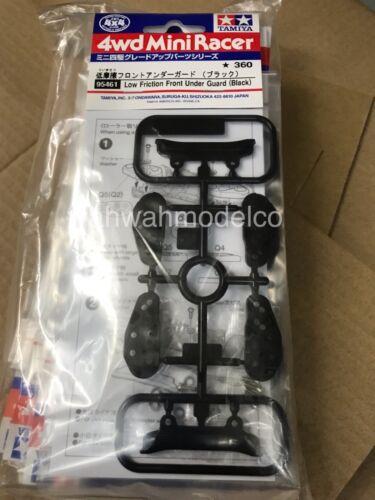 Black Tamiya 95461 1//32 Mini 4WD JR LG FRONT UNDER GUARD Low Friction