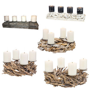 adventskranz aus holz rohling naturholz weihnachtsdeko. Black Bedroom Furniture Sets. Home Design Ideas