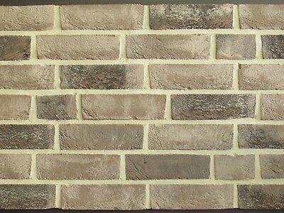 Klinker Fassade GroßZüGig Handform-verblender Wdf Bh888 Grau-schwarz Nuanciert Klinker Vormauersteine