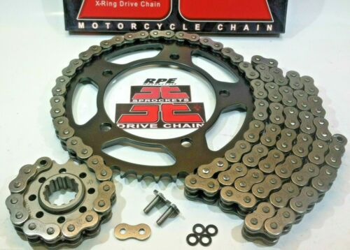 SUZUKI TL1000s 97//00 JT Z3 X-Ring QUICK ACCELERATION 530 CHAIN AND SPROCKETS KIT
