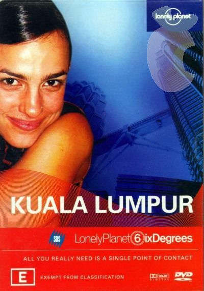 Lonely Planet Six Degrees - Kuala Lumpur (DVD, 2004)-FREE POSTAGE